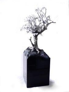 urn levensboom zandloper