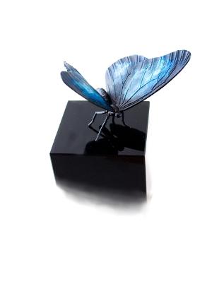 vlinder, urn, atelier Zandloper asbeeldjes
